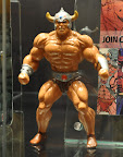 Tony Guerrero Original He-Man Sculpt- Displayed at Mattel's booth at Power-Con 2011     Tony Guerrero Original He-Man Sculpt on display the Mattel booth at