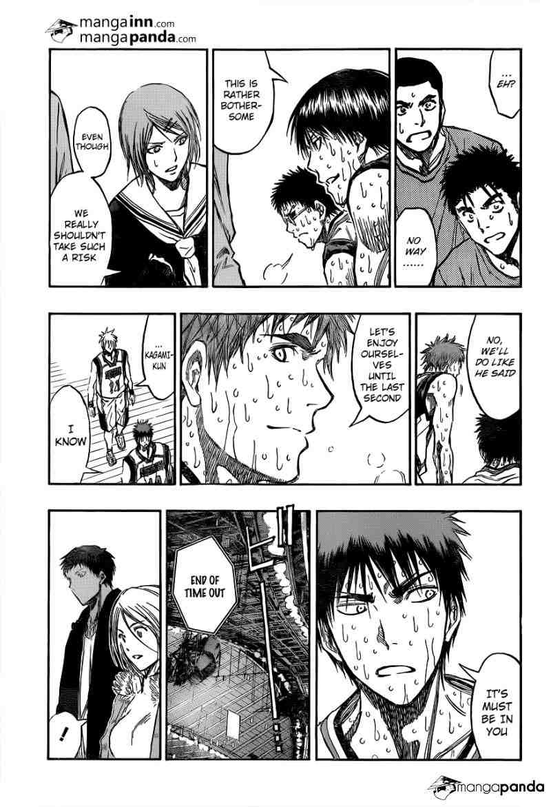 Kuroko no Basket Manga Chapter 200 - Image 05