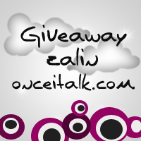 Giveaway Zalin onceitalk.com