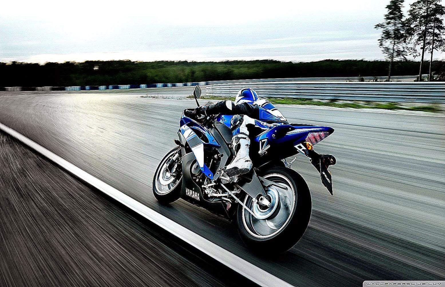 Yamaha Yzf R1 Hd Desktop Wallpaper Widescreen High: Motorcycle Wallpaper