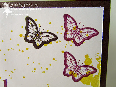 stampin up, gorgeous grunge, papillon potpourri, schmetterling, birthday, geburtstag