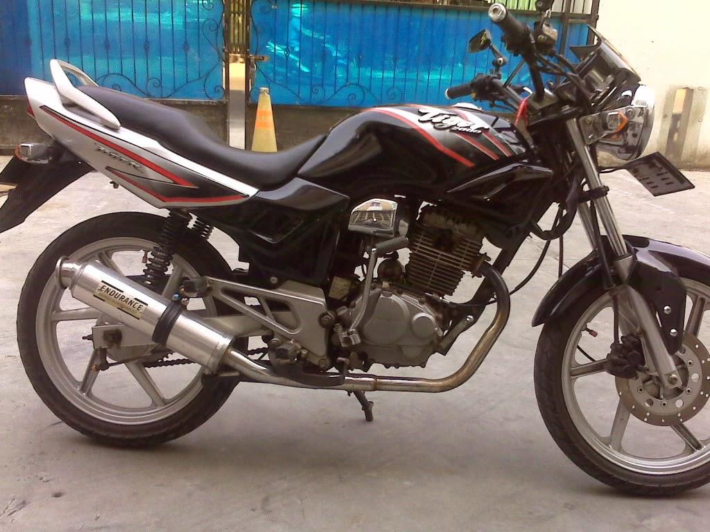 Modifikasi Motor Honda Tiger Touring