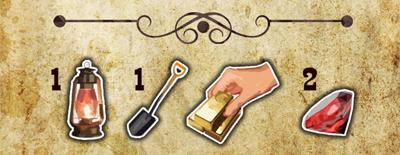 Символы на картах в игре Клондайк: Золотая лихорадка