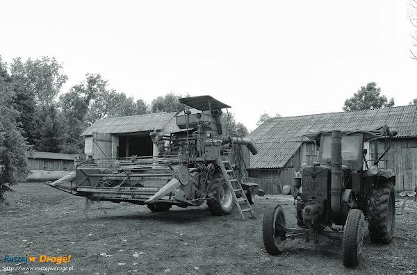URSUS z 1957 roku i kombajn Vistula