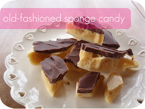 old-fashioned sponge candy