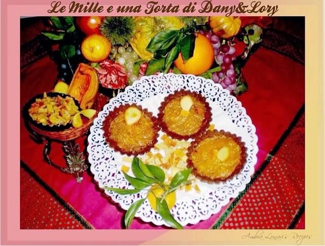 tartellette con confettura di zucca e arance