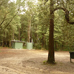 Toilet block at Cauuarina campsite in the Watagans (320543)