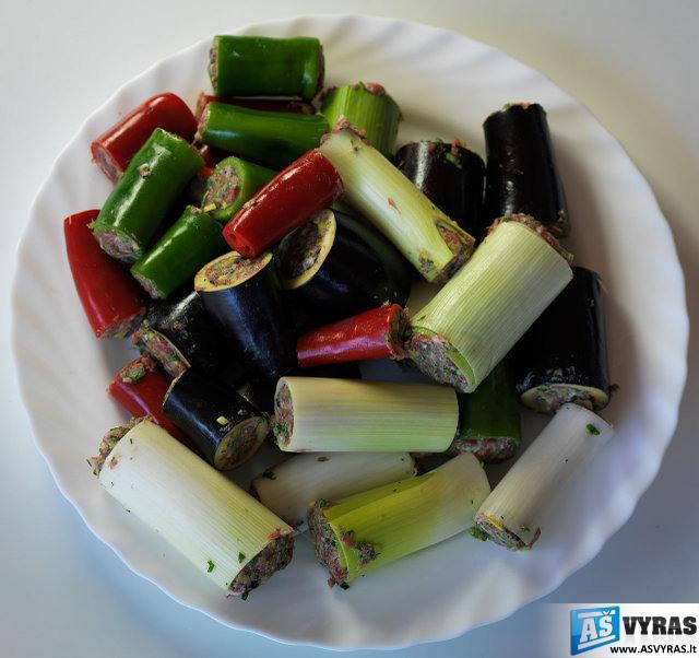 Daržovių šašlykai
