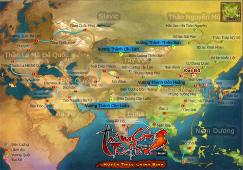 Thành Cát Tư Hãn II và hành trình chinh phục thế giới 1