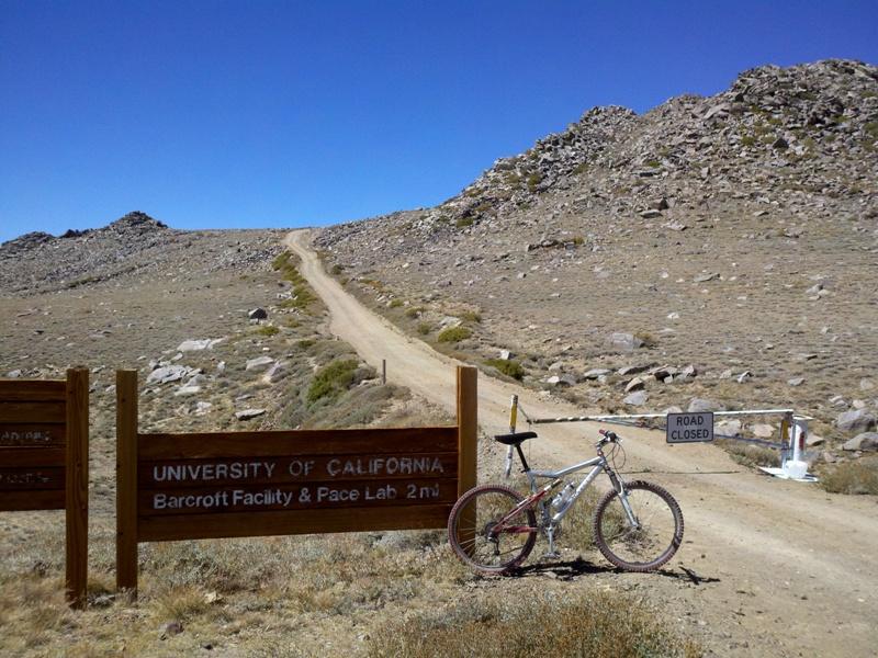 White Mountain Peak • Locked Gate