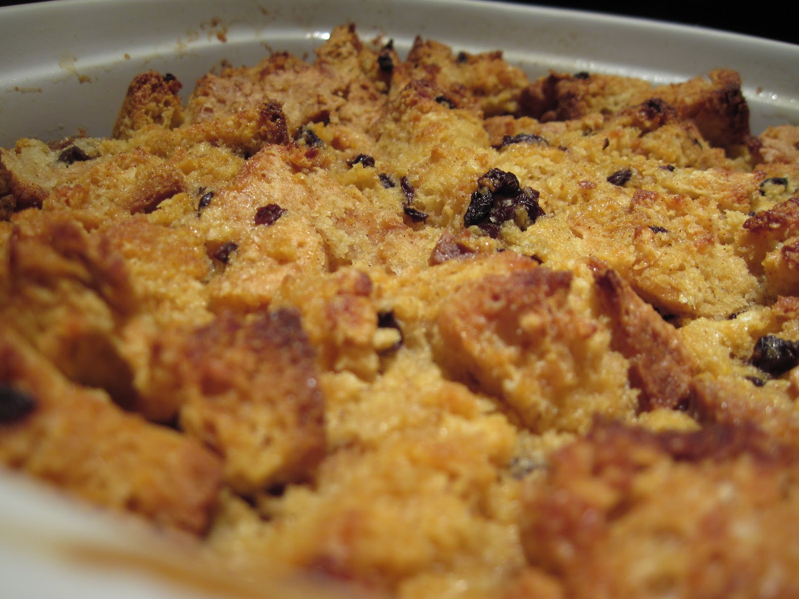 irish soda bread pudding i bake a lot now but there are still only two ...