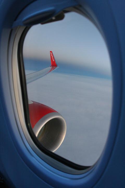Eine meiner liebsten Spielerreien: Fotos aus Flugzeugfenstern