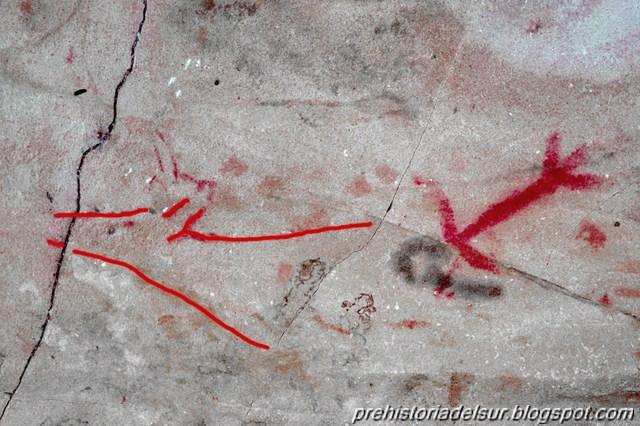 Nuevos grafitis en la Cueva de Atlanterra
