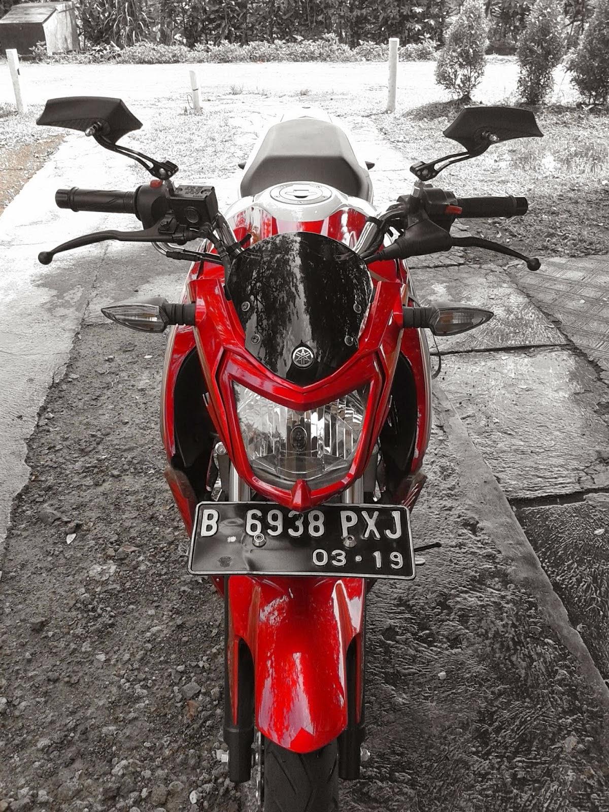 Koleksi Modifikasi New Vixion 2013 Warna Merah Terbaru Pojok