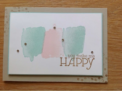 Stampin up Aquarell