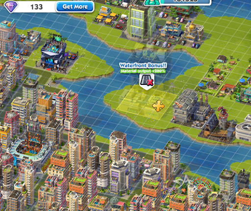 SimCity Social 280% Water Bonus Guide
