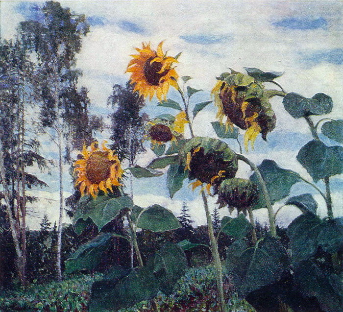 Igor Grabar - Sunflowers