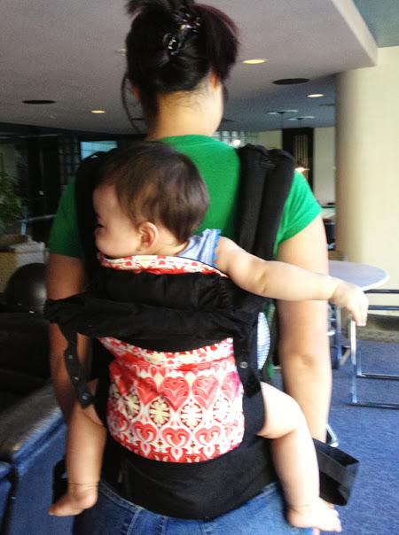 Boba Back Carry back