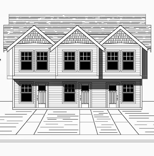 I stock house plans the fremont 3 1260 3 3 bed 1 5 for 50x100 garage