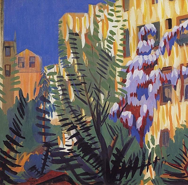 Martiros Saryan - Wisteria, 1910