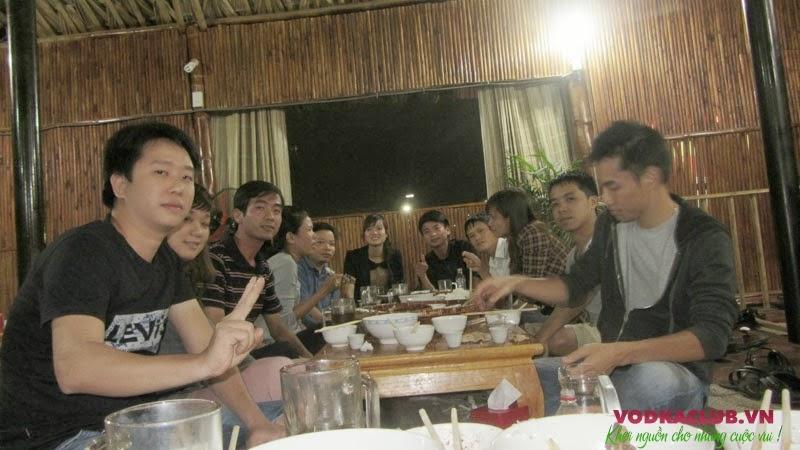 Vodkaclub Team là khách hàng quen thuộc của Kỳ Đồng Quán