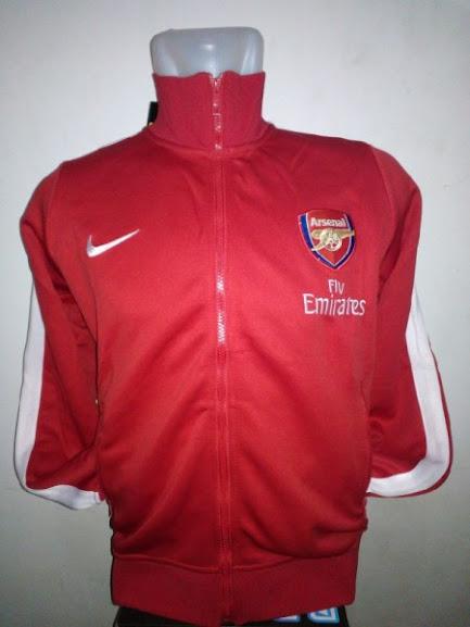 Jual Jaket Arsenal Warna Merah Terbaru 2014