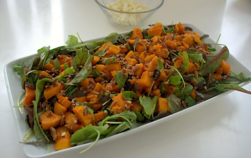 græskarsalat