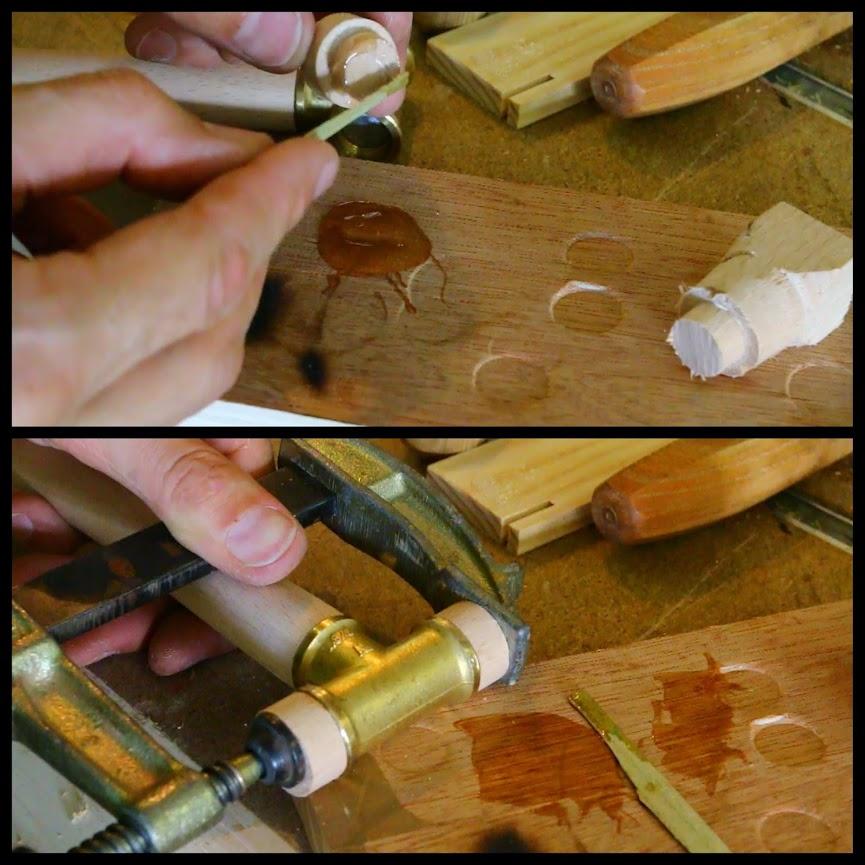 Un mini maillet pour le réglage des rabot en bois Mini%2Bmaillet-001