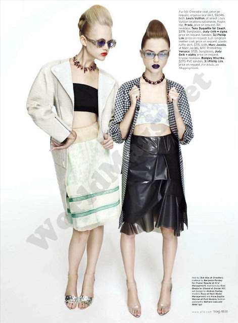 Retro Fit (Elle USA febrero 2011)