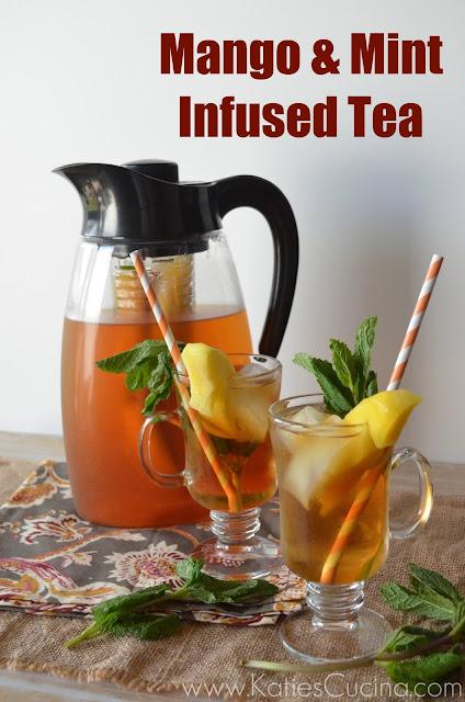 Mango & Mint Infused Tea