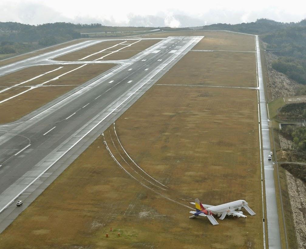 아시아나항공 히로시마공항 불시착 사고