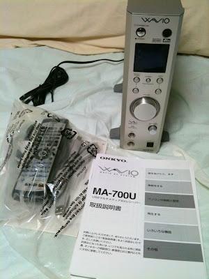 ONKYOのUSBサウンドプロセッサ、MA-700U