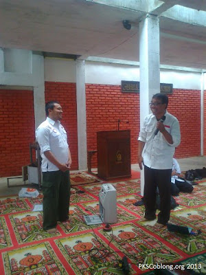 Pelatihan Relawan Merah Putih PKS Coblong