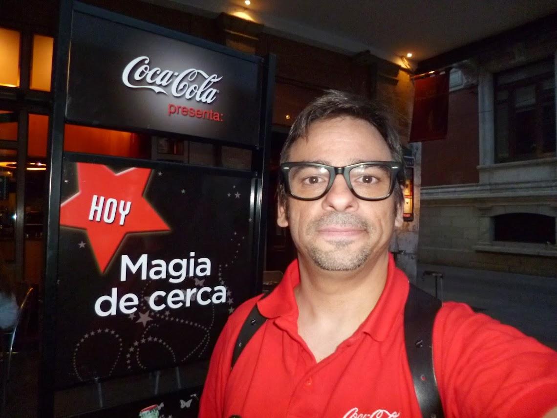 Mago Madrid magia coca-cola