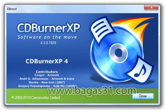 CD Burner XP 4.5 2