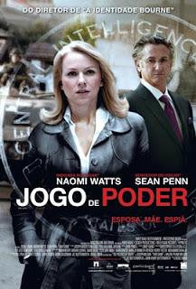 Sean Penn e Naomi Watts em Jogo de Poder