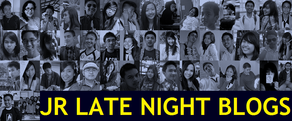 JR Late Night Blogs 2012 Blog Header