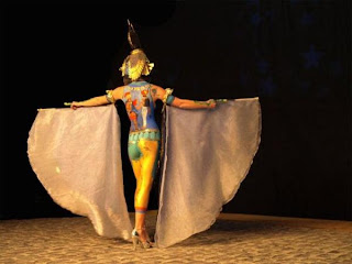 Theatre Show Pictures of Body Painting