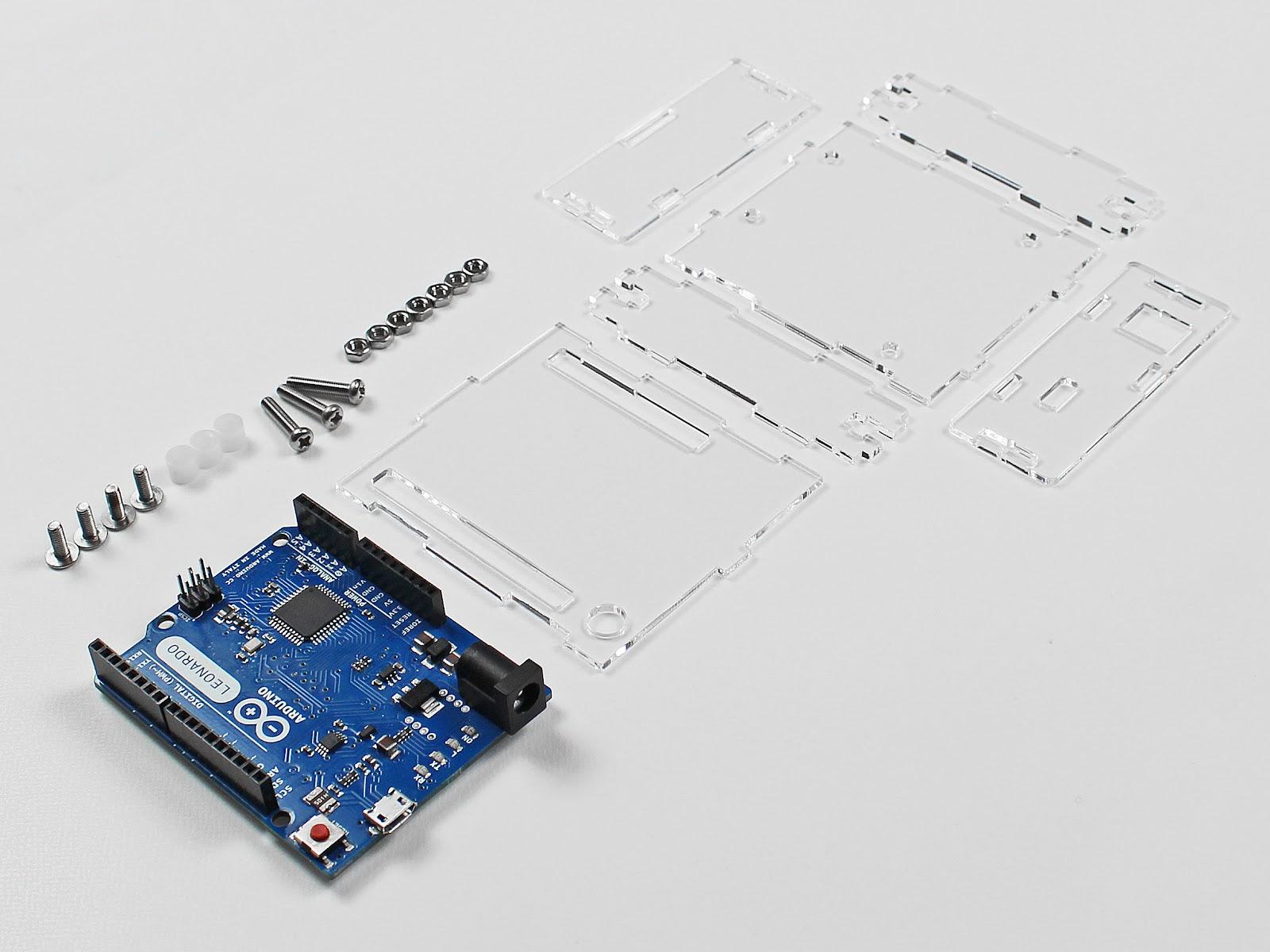 Arduinoケースのレーザーカット