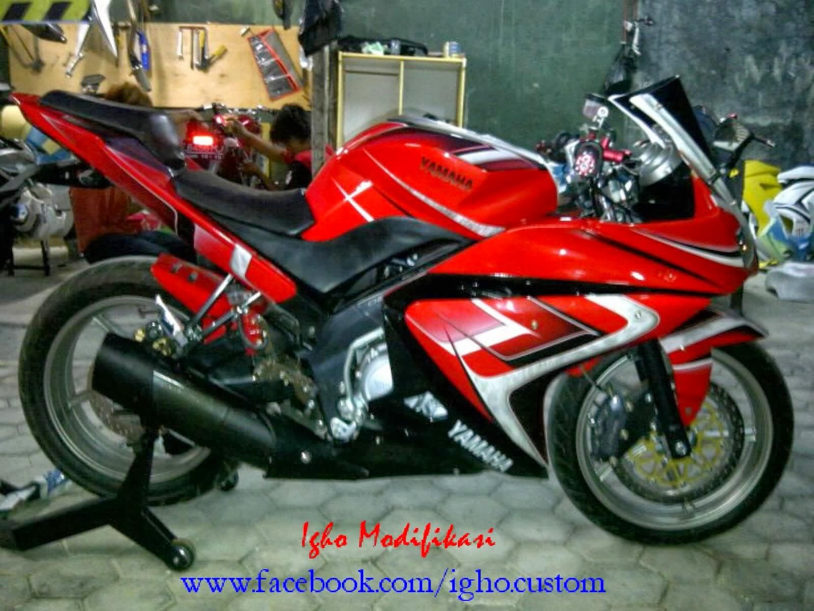 Modif Yamaha Vixion Jadi R6