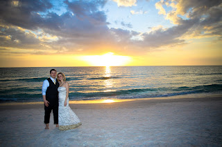 sarasota wedding photography sunset