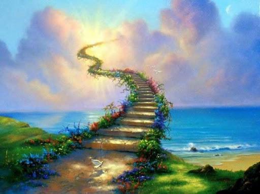 Spiritual Stairs Image