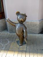 Łódź - pomniki na Piotrkowskiej