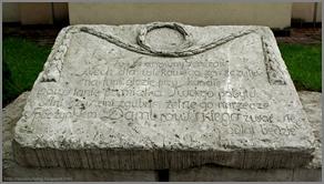 Biłgoraj tablica pamiątkowa pobytu Gen. Dąbrowskiego