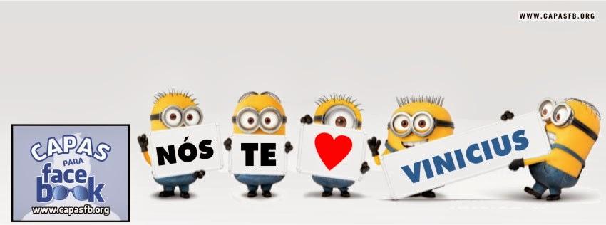 Capas para Facebook Vinicius
