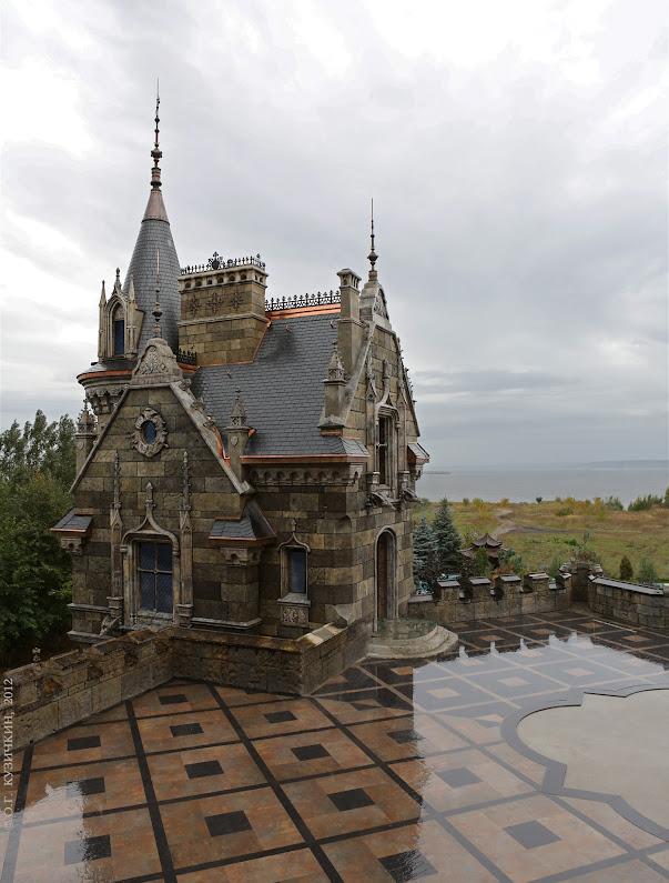 Замок Гарибальди, Castle Garibaldi, замок, архитектура, гостиница, дизайн, дизайн фасада, дизайн-проект, замок в Хрящевке, отель, exterior design, facade design, gothic revival,