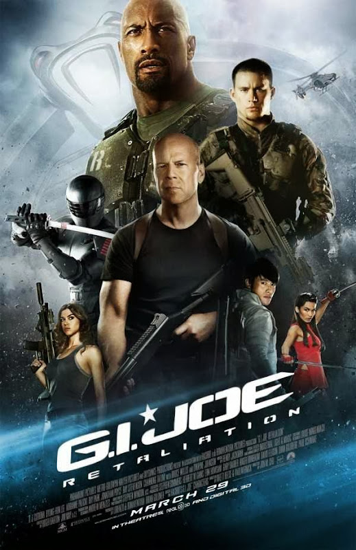 Poster Of G.I. Joe: Retaliation (2013) Full Movie Hindi Dubbed Free Download Watch Online At Alldownloads4u.Com