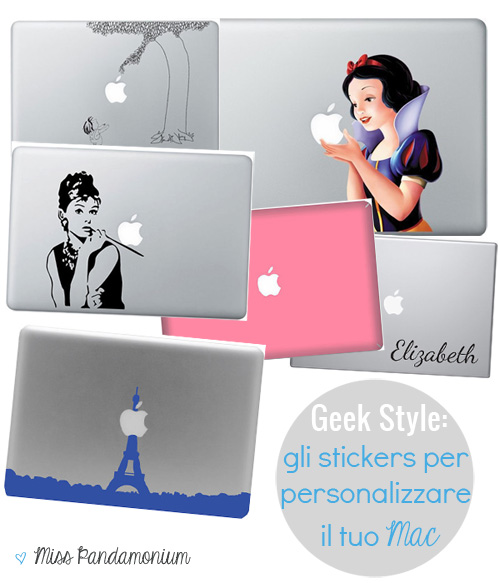 Geek style: gli stickers per personalizzare il tuo Mac