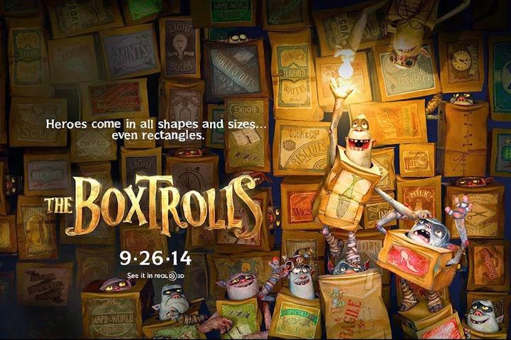 Τα Τερατοκουτάκια (The Boxtrolls) Wallpaper