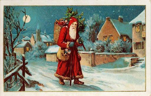 Weihnachten Nostalgisch.3 Nostalgie Weihnachtsmann Gif Sammlungen Weihnachten Advent 1